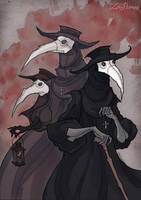 Plague Trio by IrenHorrors