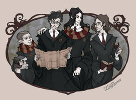 Marauders by IrenHorrors