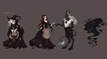 The Price of Youth (Characters) by IrenHorrors