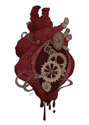 Gears of my Heart by IrenHorrors