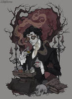 Ichabod Crane by IrenHorrors