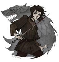 Arya Stark by IrenHorrors