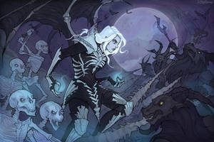 Necromancer (Diablo 3) by IrenHorrors