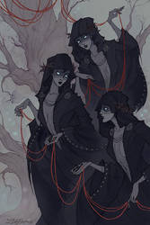 The Norns by IrenHorrors