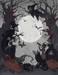 All Hallows Eve by IrenHorrors