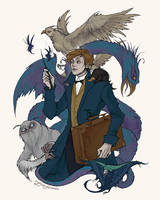 Fantastic Beasts by IrenHorrors