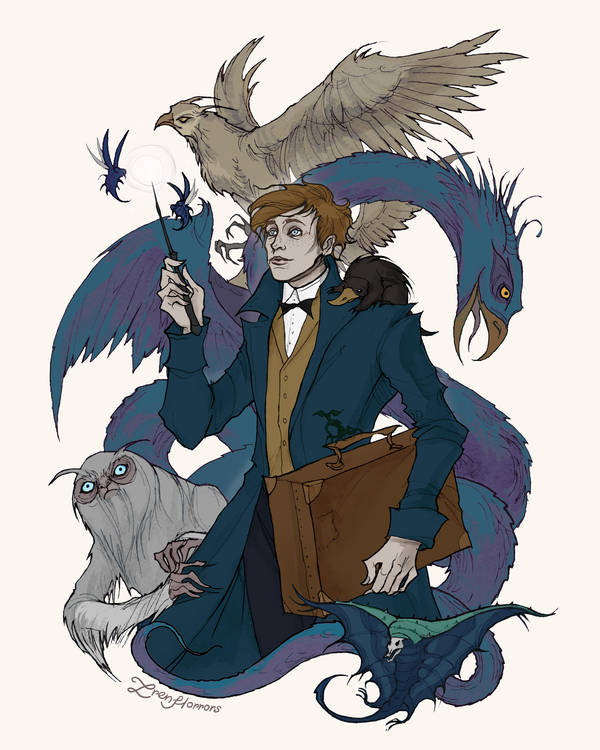 Fantastic Beasts by IrenHorrors