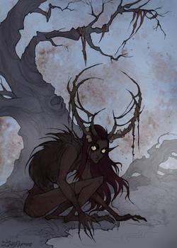Swamp Demon by IrenHorrors