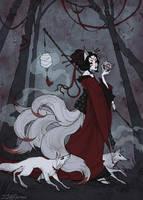Kitsune by IrenHorrors
