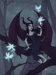 Fairy Evening by IrenHorrors