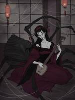 Jorogumo by IrenHorrors