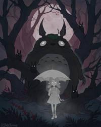 Totoro by IrenHorrors