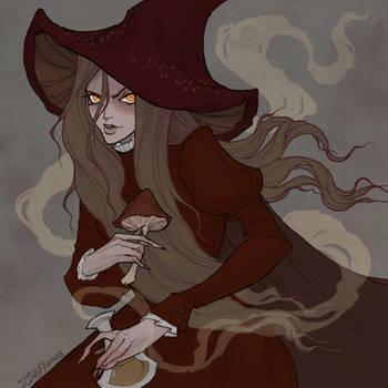 Drawlloween Mushroom by IrenHorrors