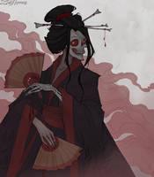 Drawlloween Yokai by IrenHorrors