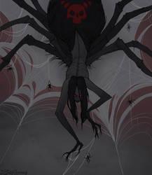 Drawlloween Spider by IrenHorrors