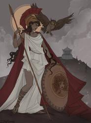 Athena by IrenHorrors