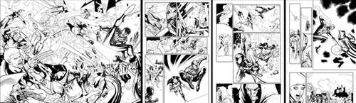 Xmen and Spidey sample pages Updated by butchmapa