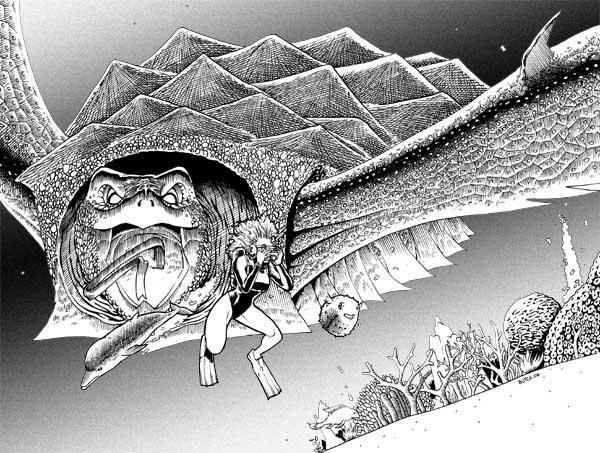 Giant Turtle Monster by butchmapa