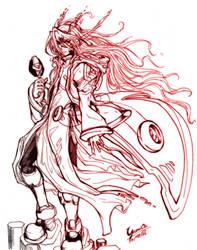 Destine - Cyber-elf Zero by Yumion