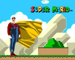 Super Mario by Matuzalein