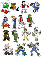 Old - Nintendo All-Stars by fryguy64