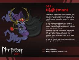 Nintober 022. Nightmare by fryguy64
