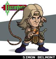 Simon Belmont (Castlevania) by fryguy64