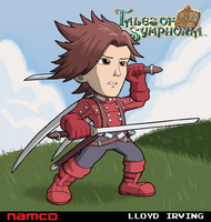 Lloyd Irving (Tales of Symphonia) by fryguy64