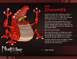 Nintober 047. Crocomire by fryguy64