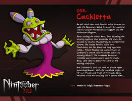 Nintober 053. Cackletta by fryguy64