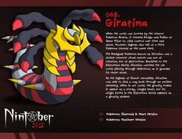 Nintober 068. Giratina by fryguy64
