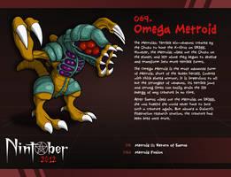 Nintober 069. Omega Metroid by fryguy64