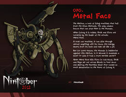 Nintober 070. Metal Face by fryguy64