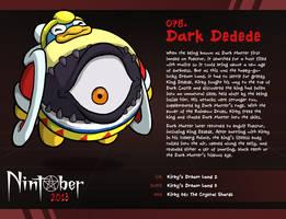 Nintober 078 - Dark Dedede by fryguy64