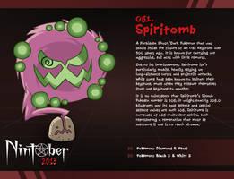 Nintober 081 - Spiritomb by fryguy64