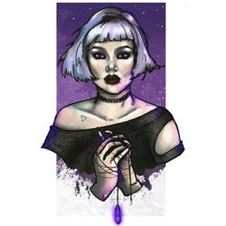Crystal Witch Aesthetic: Amethyst by TheoEvans