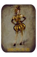 Gramophone Girl by Calliopie