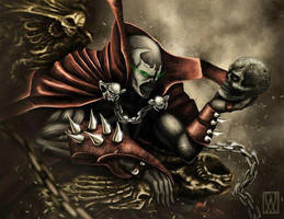 SPAWN by ADRIANVALDEZ