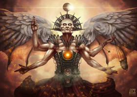 The angel of death: Mordad by ADRIANVALDEZ