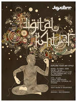 DIGITAL IKHTIAR POSTER by imadawwas