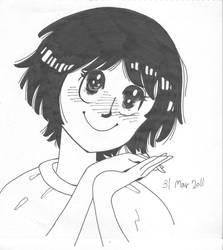Self-portrait in manga style28 by ShotaKotake