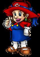 Mario au feminin - mario feminine by Luckytrefle