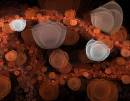 Fractal orange by Luckytrefle