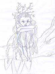 fee boudeuse - sulky fairy by Luckytrefle