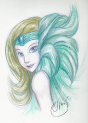 Crayon Couleur - Color Pencil by Luckytrefle