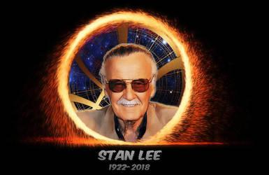 RIP Stan Lee 2 by VulcanSarek22