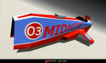 MIDNITE anti-grav racer by Ywander