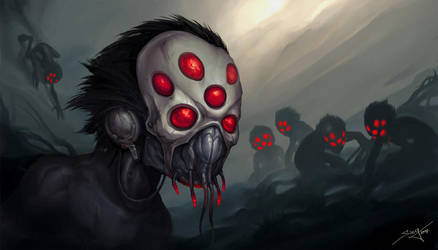 Spider's Hunt by Snugglestab