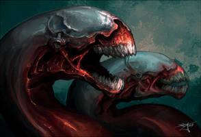 Flesh Worms by Snugglestab