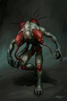 Doom 3 - Maggot by Snugglestab